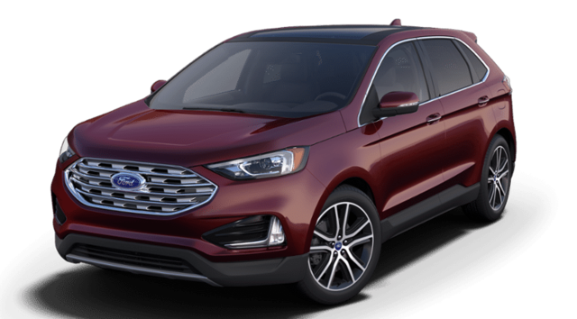 New 2019 Ford Edge Titanium SUV For Sale in Marquette, MI